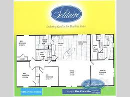 solitaire manufactured homes floor plans new 2017 solitaire homes the presidio double section home at