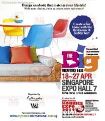 18 27 apr 2014 the big furniture expo fair at singapore expo sg
