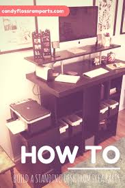 Ikea Galant Standing Desk by Tutorial How To Build A Standing Desk From Ikea Parts