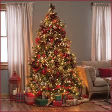 prelit christmas tree 9 foot christmas tree b