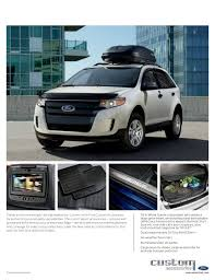 ford edge accessories 2013 ford edge brochure wa kent ford dealer
