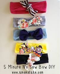 how to make a baby headband 5 minute no sew diy headband a s take