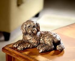 ozzy cockapoo frith sculpture original gift company