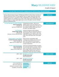 Resume Header Example by Modern Resume Templates 64 Examples Free Download
