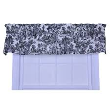 Wide Rod Valances Valances For Wide Pocket Rods Wayfair