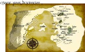 entire middle earth map some more horrible maps of arda tolkienfans