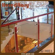 Balcony Banister China Stair Balcony Tempered Glass Handrail Stainless Steel