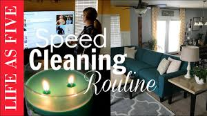 Cleaning The House by Speed Cleaning The House Routine Cleaning Motivation Youtube