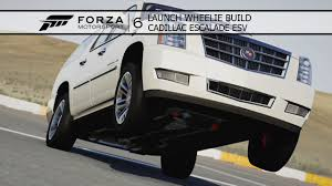 build a cadillac escalade forza 6 launch wheelie build cadillac escalade esv