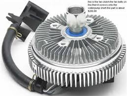 2003 chevy trailblazer fan clutch problem having problem with 2003 trailblazer sounding like a bus or fixya
