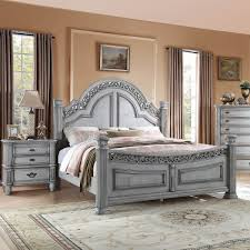 Verona Bed Frame Badcock More Verona Grey 5 Pc Bedroom