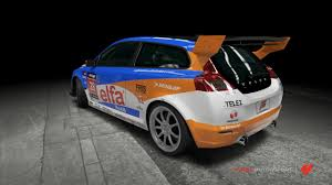 volvo race car volvo c30r 28 elfa race car by outcastone on deviantart