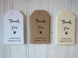 thank you tags 24 favor tag templates free sle exle format thank you