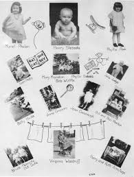baby yearbook holyoke high school class 0f 1945