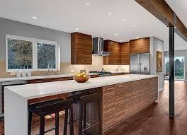 Kitchen Bench Designs 36 Best Kitchen Waterfall Bench Ideas Images On Pinterest