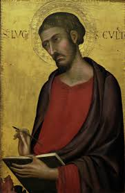 simone martini artist epph simone martini u0027s st luke c 1330 u0027s and other saints