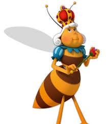 maya bee characters queen