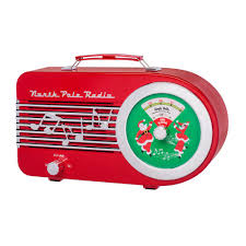 mr christmas 6 in christmas santa u0027s radio 79422 the home depot