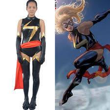 Ms Marvel Halloween Costume Captain Marvel Costume Ebay