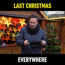 Last Christmas Meme - 9gag you know christmas is near when the song is