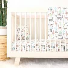 Bedding For A Crib Lovely Llamas Crib Bedding Caden