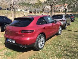 porsche silver paint code porsche exclusive unveils macan turbo with impulse red metallic
