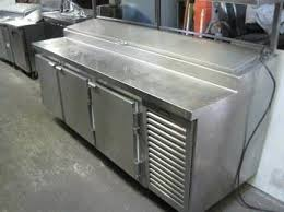 Refrigerated Prep Table by 1 Kairak Kpr 89s Pizza Prep Table Refrigerated Food
