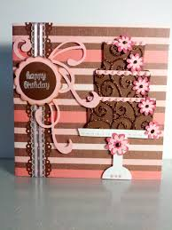 happy birthday cake card like the swirls on cake cards