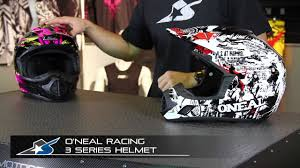 o neal motocross gear o u0027neal racing 3 series helmet from motorcycle superstore com youtube