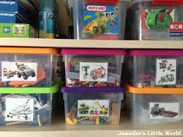 Our evolving Lego storage system