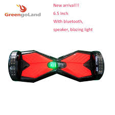 electric skateboard led lights 6 5 inch newest two wheels electric scooter with bluetooth speaker