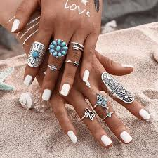 hand with rings images Ellarie ring pack hypeblvd jpg