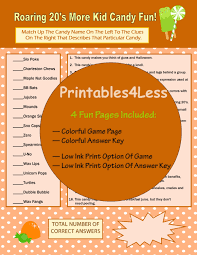 1920s candy game trivia questions and answers party