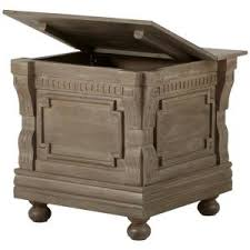 Chest End Table Home Decorators Collection Parker Washed Grey Storage End Table