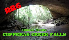 Red River Gorge Map Hike To Copperas Creek Falls Red River Gorge Unofficial Trail