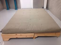 Sofa Bed Thick Mattress by Futon Company Flyp Sofa Bed Solid Wood Base Thick Sofabed Mattress