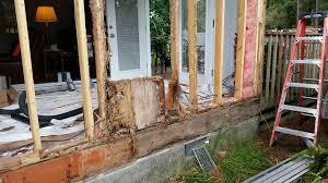 Rotten Bathroom Floor - rotten wood repair