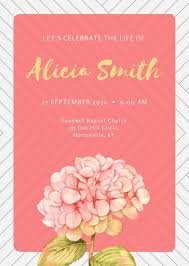 funeral invitation template free customize 38 funeral invitation templates online canva