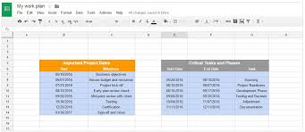resume templates google sheets budget office timeline gantt charts in google docs