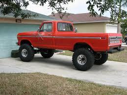 1977 Ford Truck Mudding - custom 4x4 trucks 1978 f150 custom 351m c6 4x4 standard cab