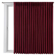 Patio Door Panel Curtains by Red Door Curtains For Window Jcpenney