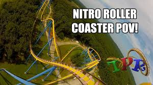 Nitro Six Flags Nitro At Six Flags Great Adventure Theme Park Review