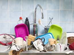Cleaning Kitchen Sink by How To Clean Your Kitchen Sink