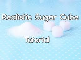 Wrapped Sugar Cubes Realistic Polymer Clay Sugar Cube Tutorial Youtube