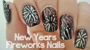 new years nails fireworks youtube