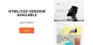 wex minimalistic wordpress portfolio theme by orangeidea