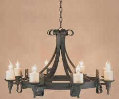Wrought Iron Chandelier Uk Impex Cromwell Black 8 Light Gothic Wrought Iron Cartwheel Chandelier