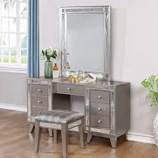 Vanity Company Coaster Company Leighton Vanity Mirror Metallic Mercury Walmart Com
