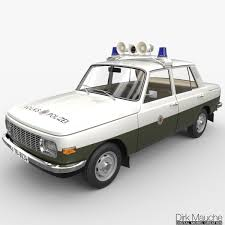 wartburg model wartburg 353 volkspolizei