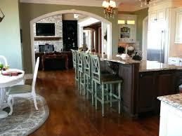 kitchen island with breakfast bar and stools kitchen island meetmargo co